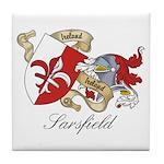 Sarsfield Family Sept Tile Coaster