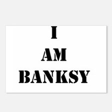 I Am Banksy Postcards (Package of 8)