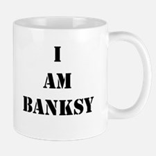 I Am Banksy Mug