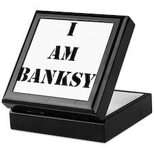 I Am Banksy Keepsake Box