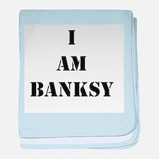 I Am Banksy Infant Blanket