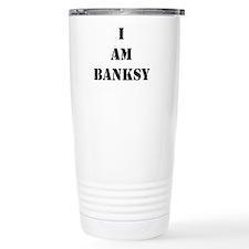 I Am Banksy Travel Coffee Mug