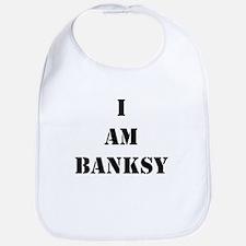 I Am Banksy Bib