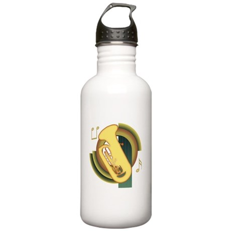 Tuba Deco Stainless Water Bottle 1.0L