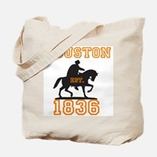 Houston - EST. 1836 Tote Bag