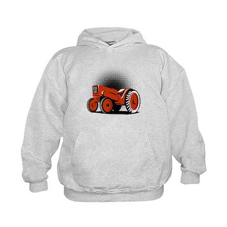 vintage farm tractor Kids Hoodie