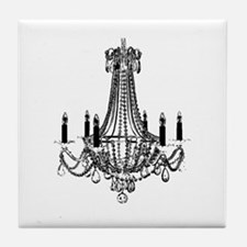 Cute Chandelier Tile Coaster