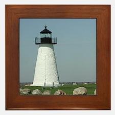 Ned's Point Lighthouse Framed Tile
