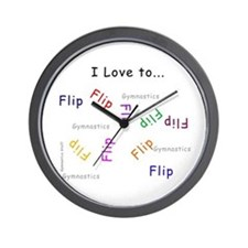 Gymnastics Clock - Flip