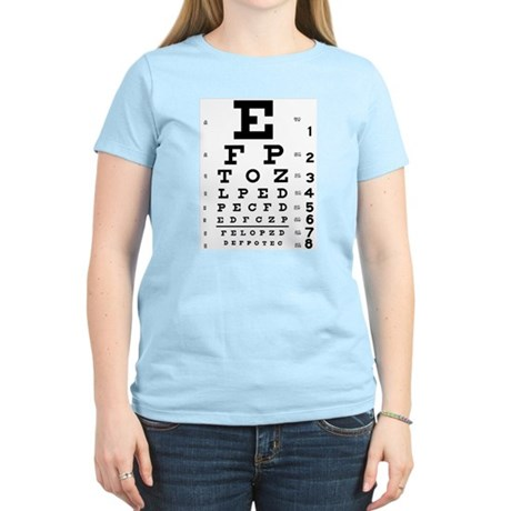 Eye Test Women's Light T-Shirt