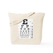 Eye Test Tote Bag