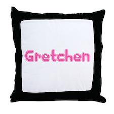 """""""Gretchen"""" Throw Pillow"""