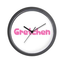 """Gretchen"" Wall Clock"