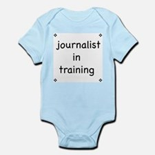 Journalist-in-training infant creeper