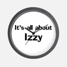 It's all about Izzy Wall Clock