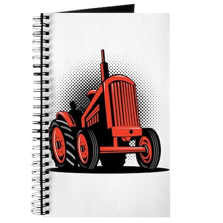 vintage farm tractor Journal