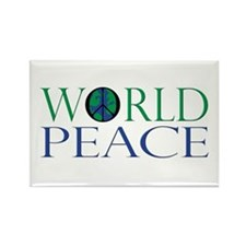 World Peace Rectangle Magnet (10 pack)