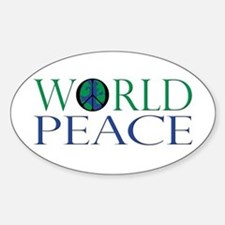 World Peace Decal