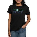 World Peace Women's Dark T-Shirt