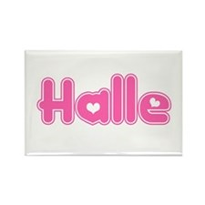 """Halle"" Rectangle Magnet"