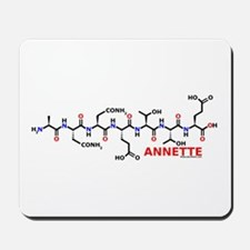 Annette molecularshirts.com Mousepad