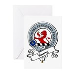 Young Clan Badge Greeting Cards (Pk of 10)