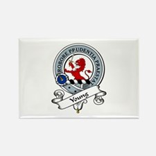 Young Clan Badge Rectangle Magnet (10 pack)