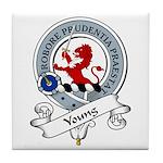 Young Clan Badge Tile Coaster
