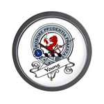 Young Clan Badge Wall Clock