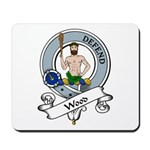 Wood Clan Badge Mousepad