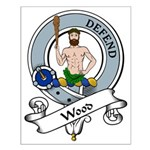 Wood Clan Badge Small Poster