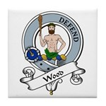 Wood Clan Badge Tile Coaster