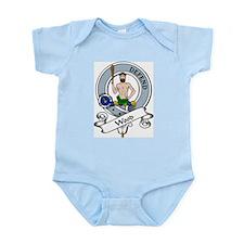 Wood Clan Badge Infant Creeper