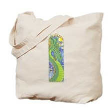 Dragon Bookmark Tote Bag