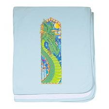 Dragon Bookmark Infant Blanket