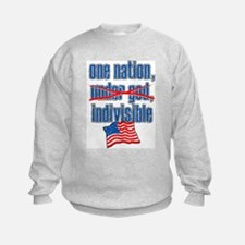 Real Pledge, Atheist Sweatshirt