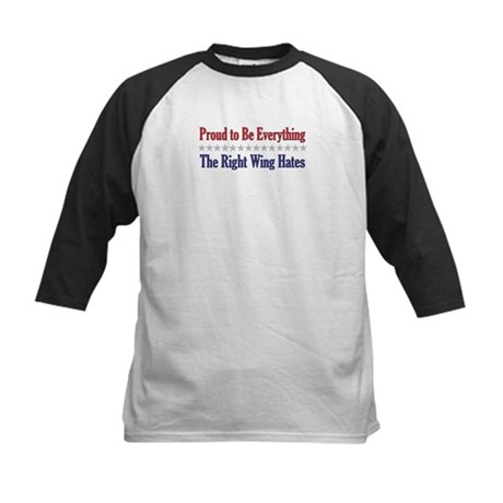 Everything They Hate Kids Baseball Jersey