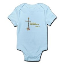 Blessed are the meek Infant Bodysuit