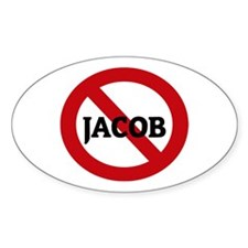 Anti-Jacob Oval Decal
