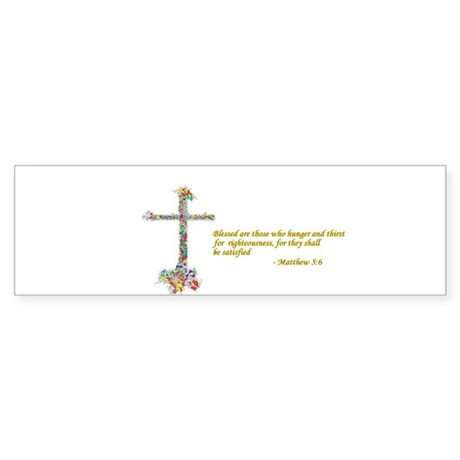 Thirst For Righteousness Sticker (Bumper)