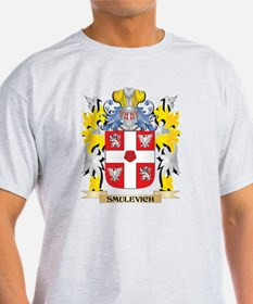 Smulevich Family Crest - Coat of Arms T-Shirt