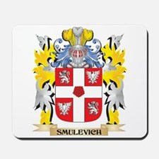 Smulevich Family Crest - Coat of Arms Mousepad