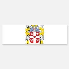 Smulevich Family Crest - Coat of Ar Bumper Bumper Bumper Sticker