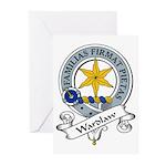Wardlaw Clan Badge Greeting Cards (Pk of 10)