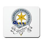 Wardlaw Clan Badge Mousepad