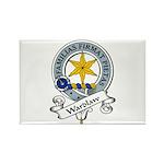 Wardlaw Clan Badge Rectangle Magnet (10 pack)