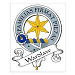 Wardlaw Clan Badge Small Poster