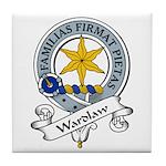 Wardlaw Clan Badge Tile Coaster