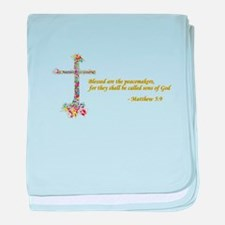 Blessed Peacemakers Infant Blanket