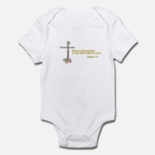 Blessed Peacemakers Infant Bodysuit